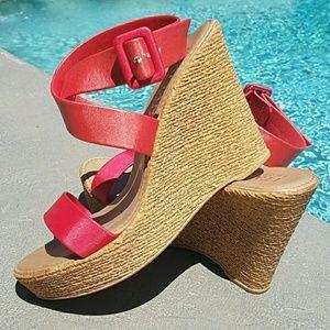 💌New $125 NWOT Italian Shoemakers Wedge Nordstrom
